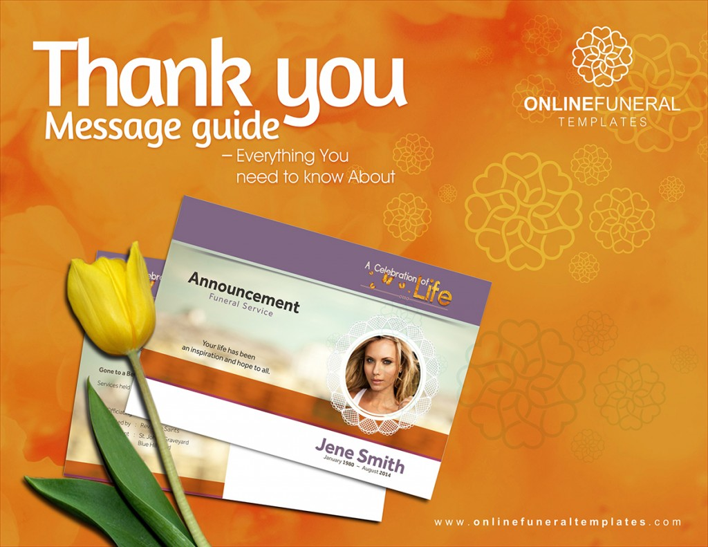 3. Blog. Thank You Message Guide