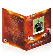 A4 Booklets Soccer #0007