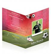 A4 Booklets Soccer #0008