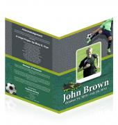 A4 Booklets Soccer #0009