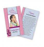 Funeral Prayer Cards (Large) Kids #0001