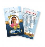 Funeral Prayer Cards (Large) Kids #0008