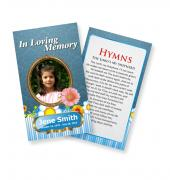 Funeral Prayer Cards (Large) Kids #0009