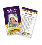 Funeral Prayer Cards (Large) Kids #0010
