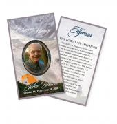 Funeral Prayer Cards (Large) Nature Theme Adventures #0001