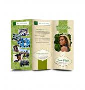 Graduation Memory Book Trifold - Template 01
