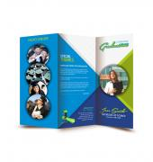 Graduation Memory Book Trifold - Template 02