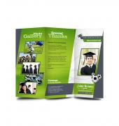 Graduation Memory Book Trifold - Template 08