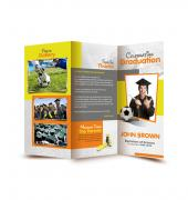 Graduation Memory Book Trifold - Template 09