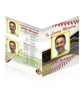 Large Tabloid Booklets Baseball #0011