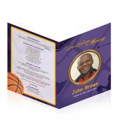 Large Tabloid Booklets Basketball #0024