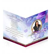 Large Tabloid Booklets Simple Theme #0026
