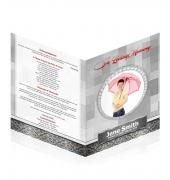 Large Tabloid Booklets Simple Theme #0031