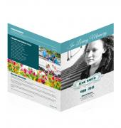 Large Tabloid Booklets Simple Theme #0034