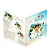 Large Tabloid Booklets Simple Theme #0040