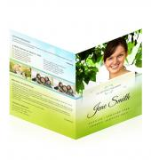 Large Tabloid Booklets Simple Theme #0041