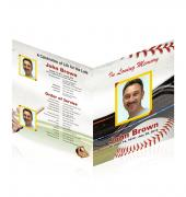 Legal Single Fold Programs Baseball #0011