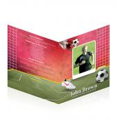 Legal Single Fold Programs Soccer #0008