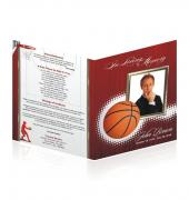 Legal Single Fold Programs Sports Basketball #0030
