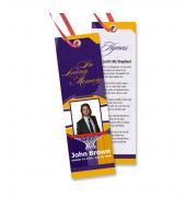 Memorial Bookmarks Sports Basketball #0026